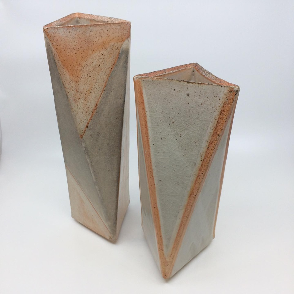 Tri vases - Wood fire